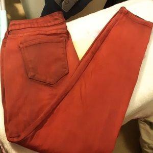 BoHo skinny stretch jeans